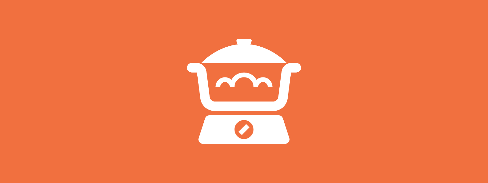 Icon background of food appliance