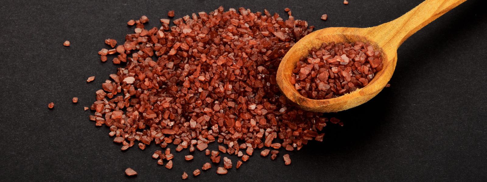 Photo of alaea red Hawaiian sea salt