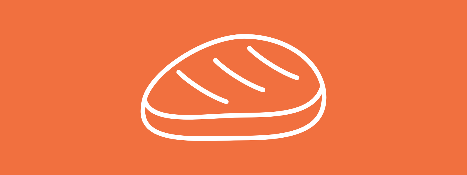 Icon background of a steak